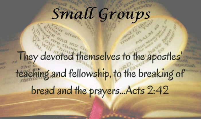 Small Group Ministries