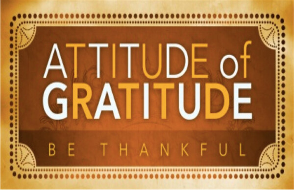 Series: Attitude of Gratitude