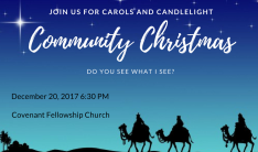 Community Christmas Service - Dec 20 2017 6:30 PM