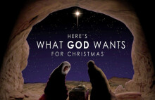 What Does God Want For Christmas