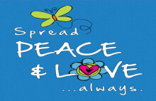 Spread Peace and Love Always
